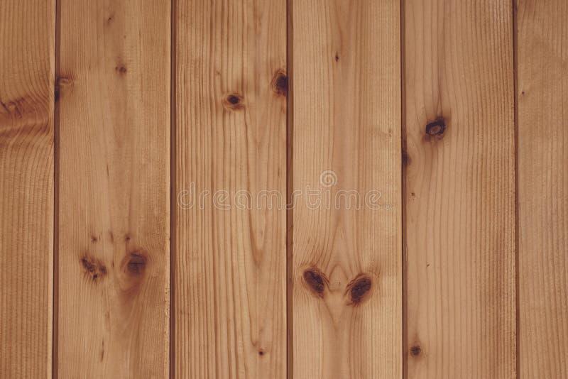 Modèle abstrait sur le contexte en bois Conseil en bois de texture Fond en bois de planche brun clair L'espace vide en bois de pi photos libres de droits