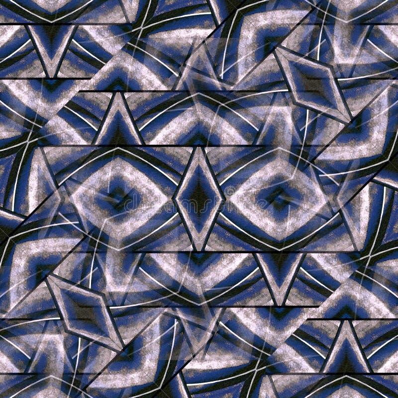 Modèle abstrait texturisé géométrique illustration stock