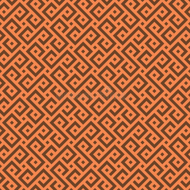 Modèle africain sans couture de vecteur illustration de vecteur