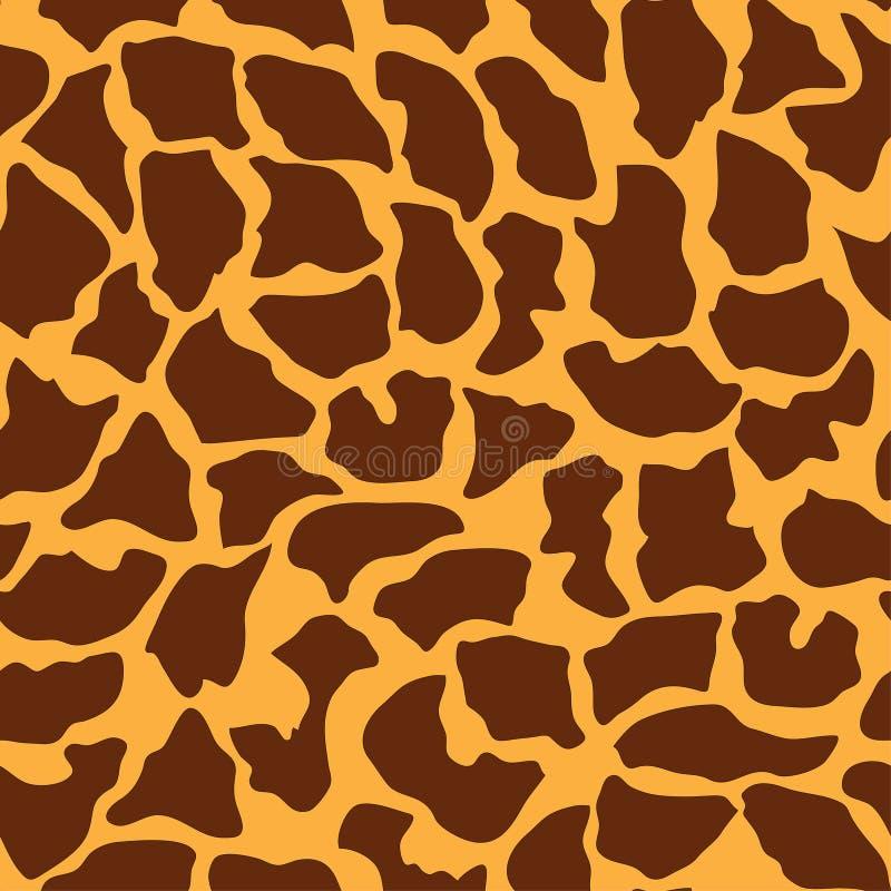 Modèle animal sans couture pour la conception de textile illustration stock
