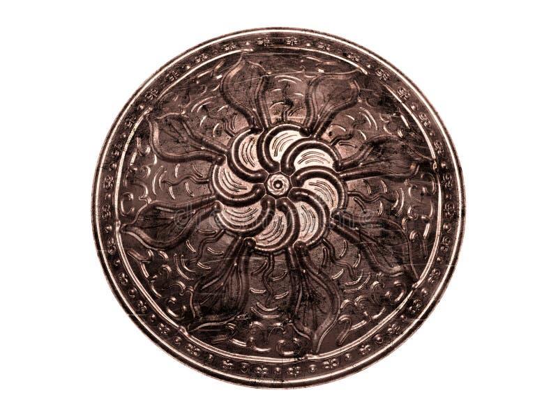 Modèle antique de bouclier illustration stock