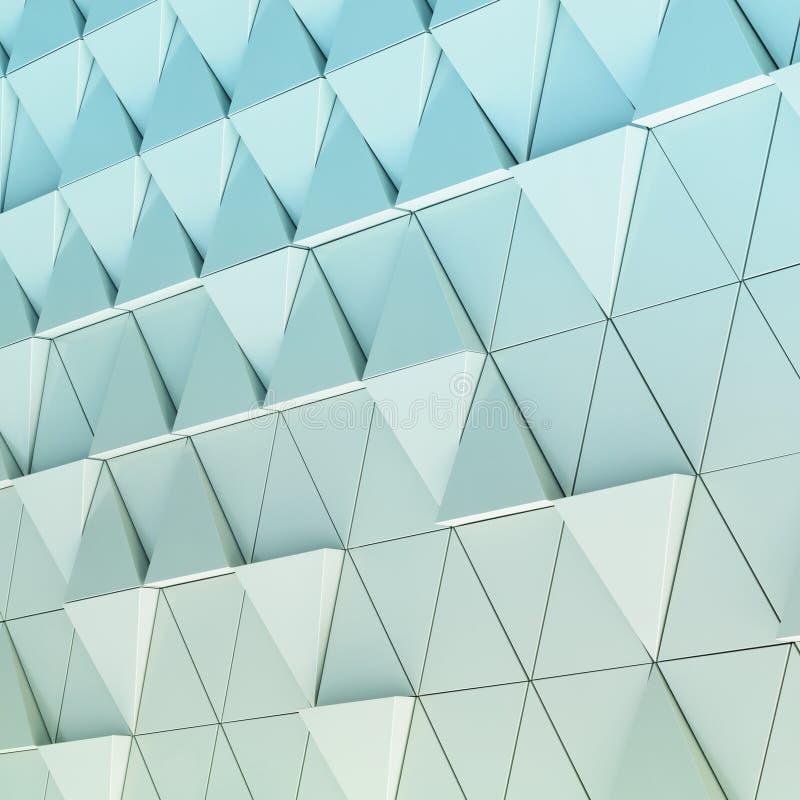 modèle architectural d'abrégé sur l'illustration 3D image libre de droits