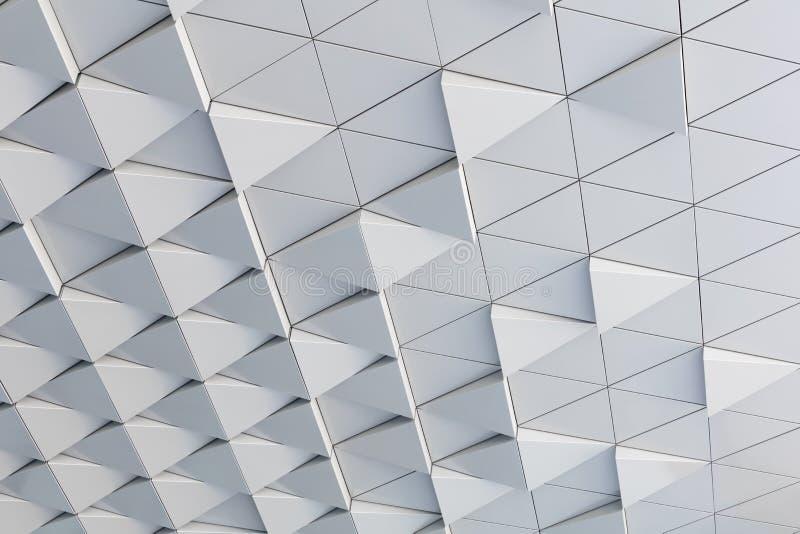 modèle architectural d'abrégé sur l'illustration 3D photographie stock libre de droits