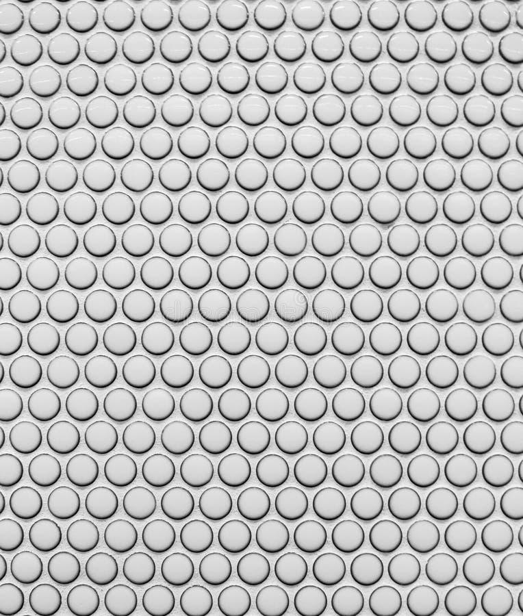 modèle argenté de la tuile 3D illustration stock