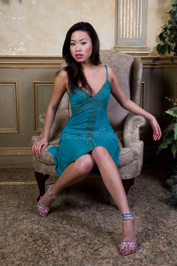 Modèle Asiatique Photos stock