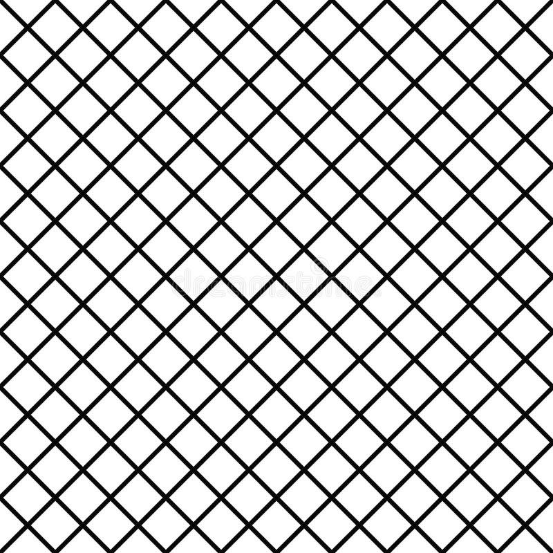Modèle avec la petite maille, grille Fond sans joint de vecteur Texture géométrique abstraite Papier peint de losanges illustration de vecteur