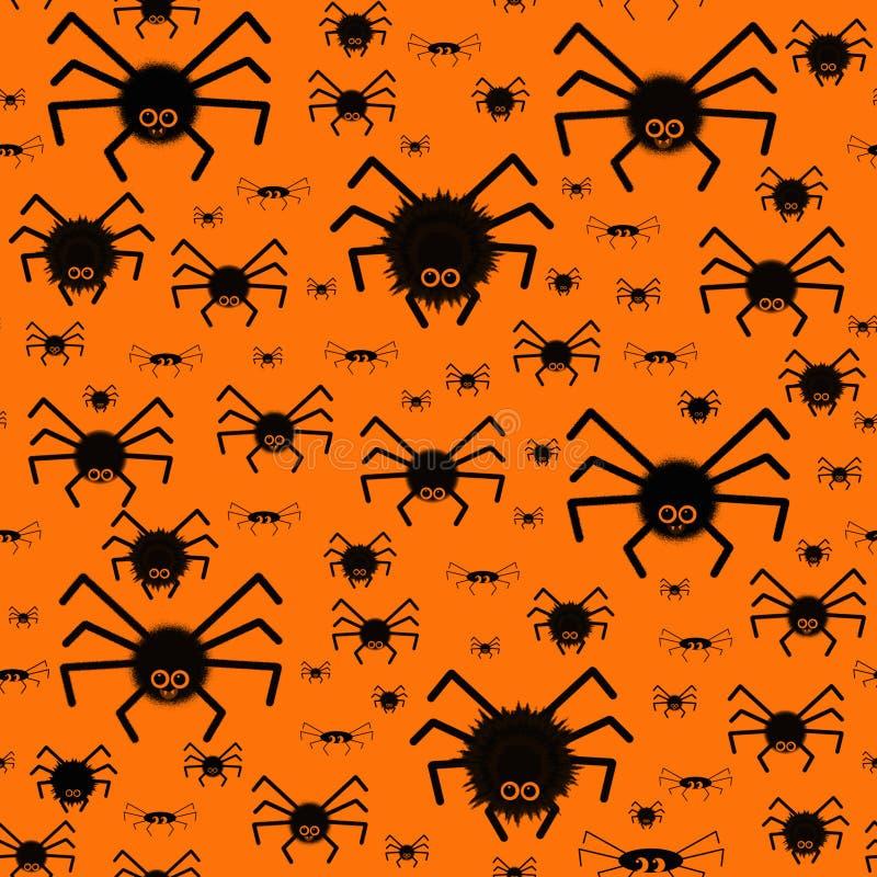 Modèle avec les araignées fantasmagoriques photo stock