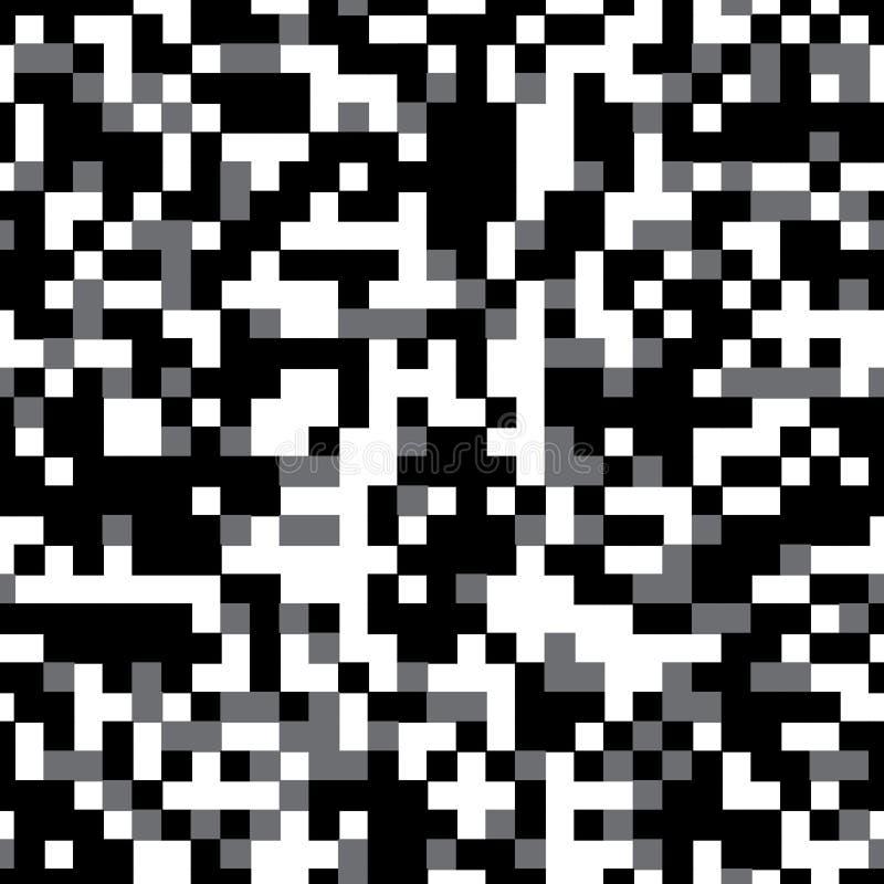 Modèle avec les places grises illustration stock