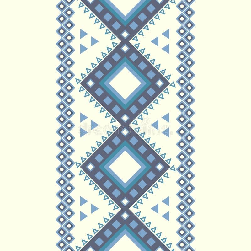 Modèle aztèque. illustration stock