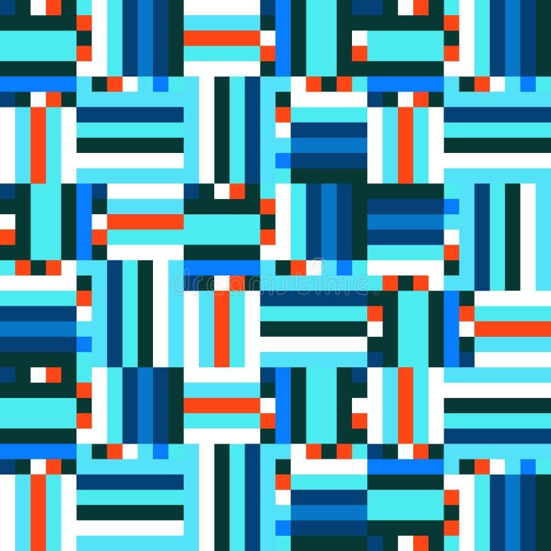 Modèle bleu de Digital illustration stock
