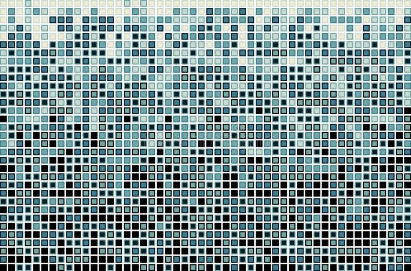 Modèle bleu de rectangle de vecteur illustration stock