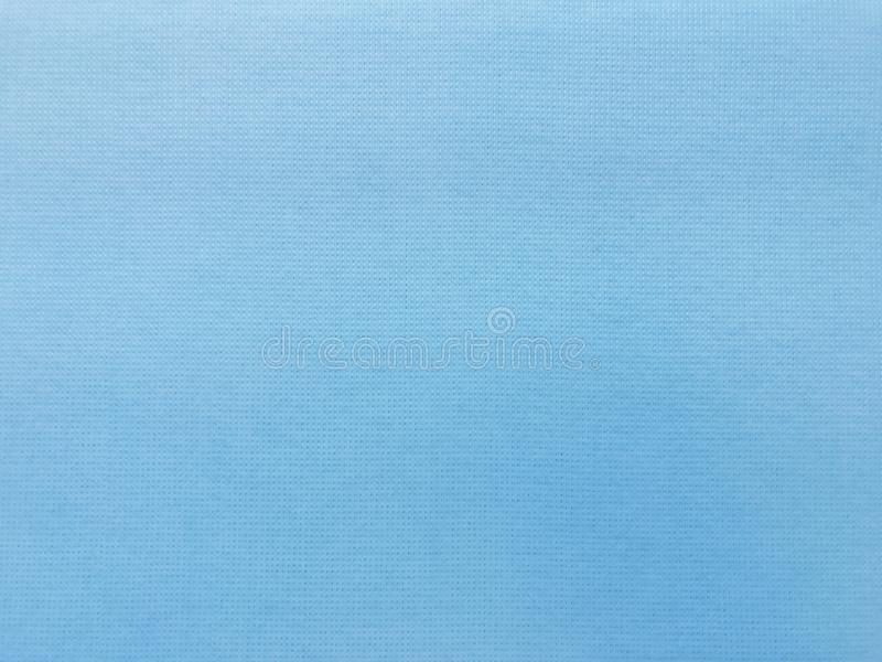 Modèle bleu de surface de tissu de texture de tissu de toile, fond de tissu de tissu images stock