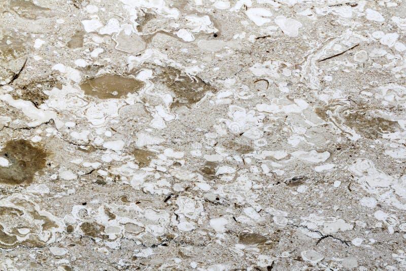 Modèle brun de couleur de textures de marbre naturelles Fond extérieur en pierre image stock