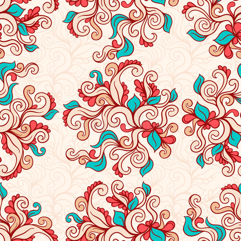 Modèle brun naturel illustration stock
