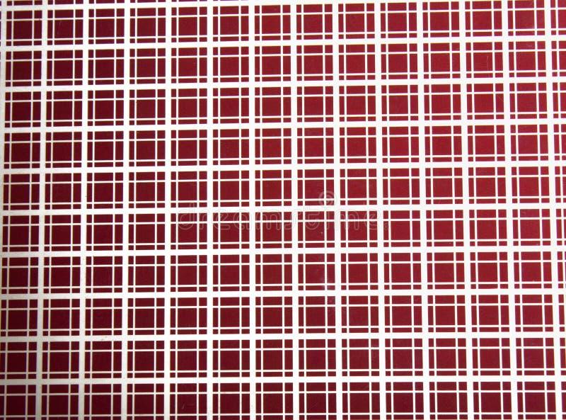 Modèle carré de rouge de texture photographie stock