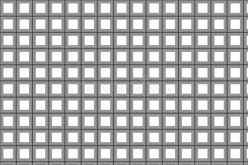 Modèle carré simple illustration stock