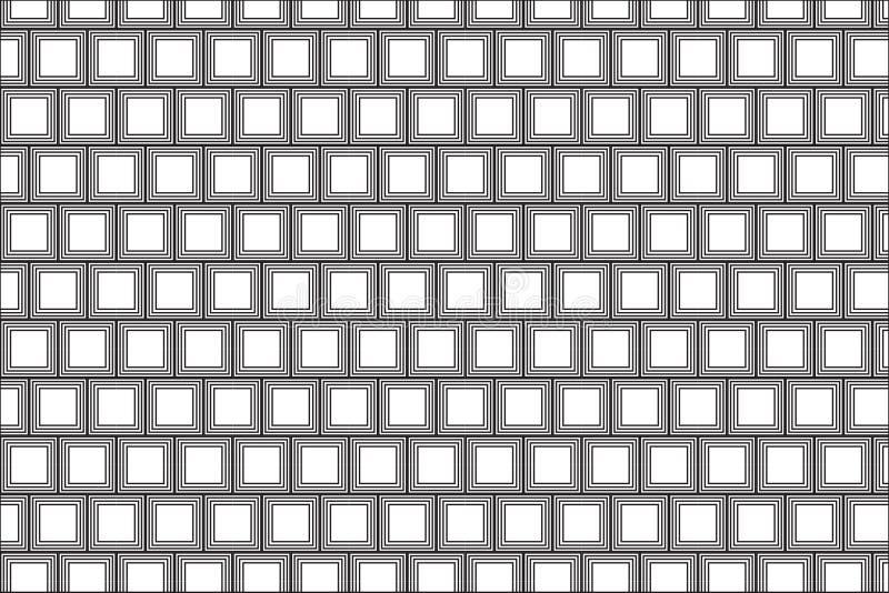 Modèle carré simple illustration de vecteur