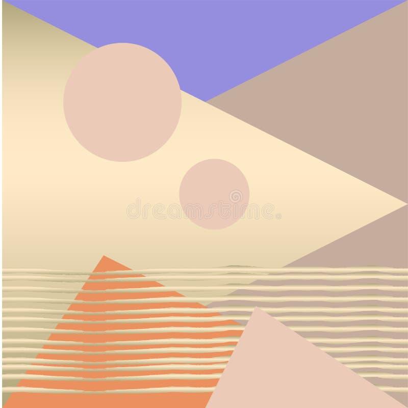 Modèle chic géométrique illustration de vecteur