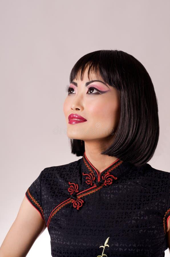 Modèle chinois de Qipao photos stock