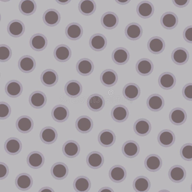 Modèle circulaire illustration stock