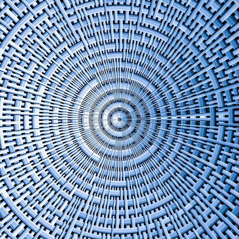 Modèle circulaire de tissu illustration libre de droits