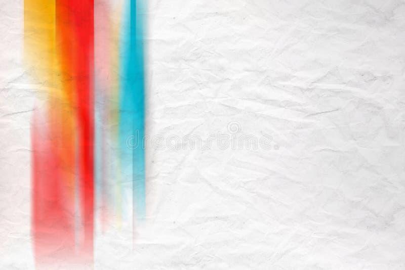 Modèle coloré brouillé, papier crumped illustration de vecteur