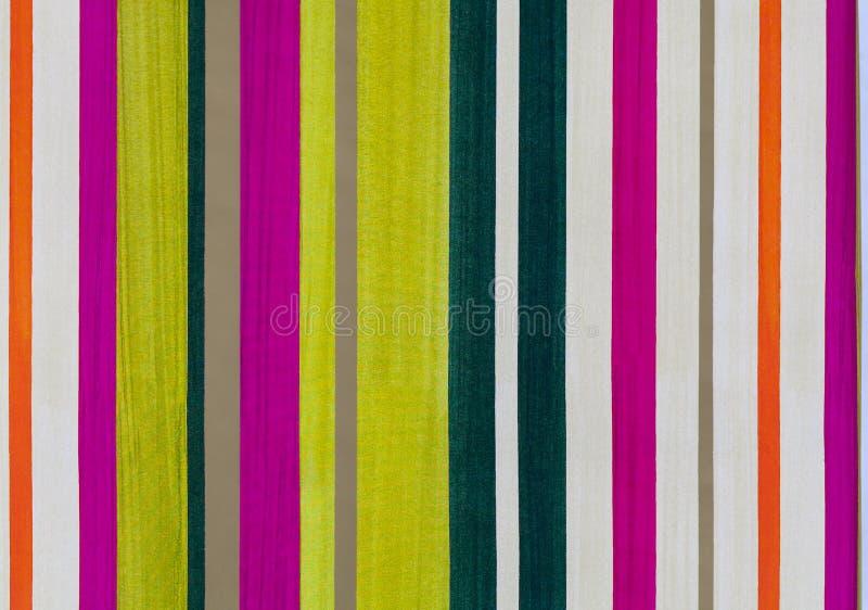 Modèle coloré de papier rayé images stock