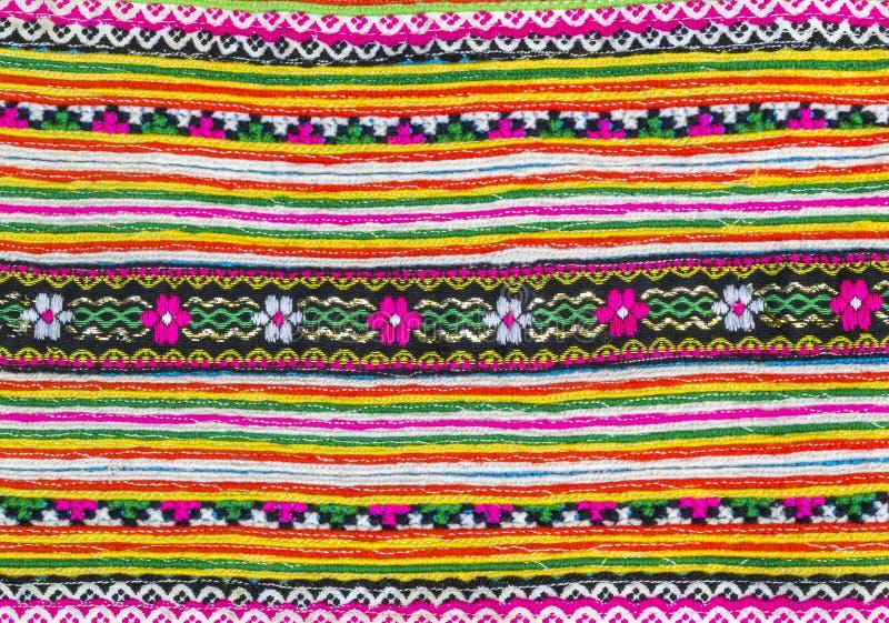 Modèle coloré de tissu image libre de droits
