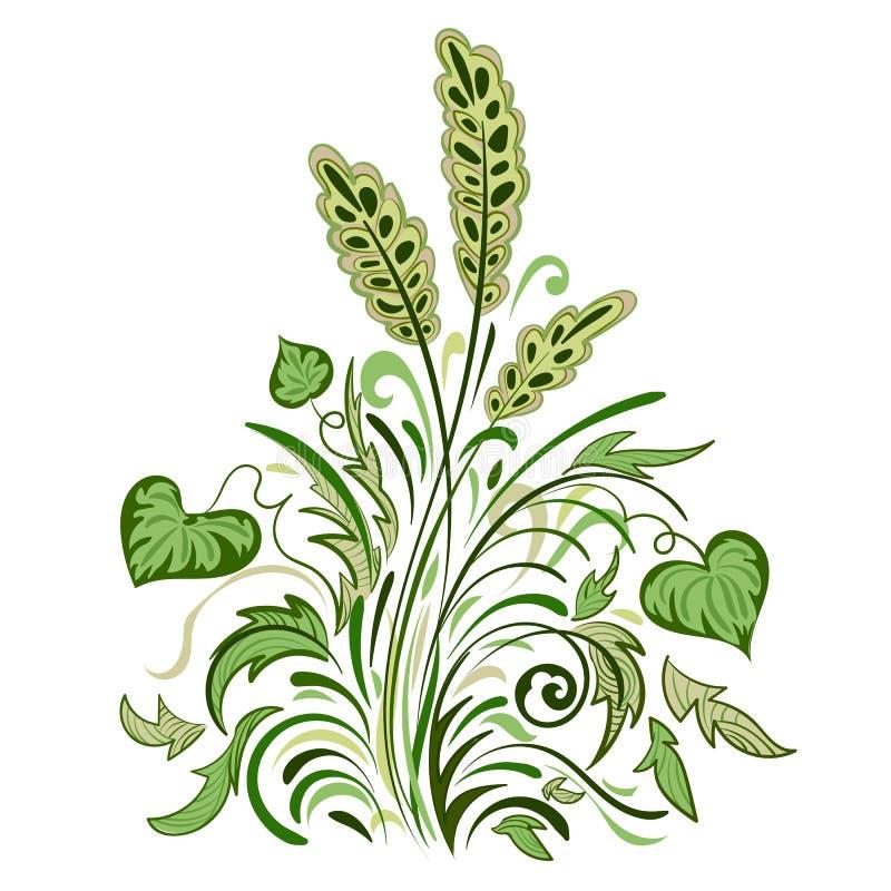Modèle coloré floral illustration de vecteur