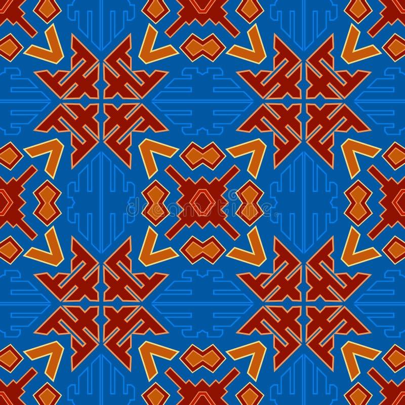 Modèle coloré par tribal 29 de gare illustration libre de droits