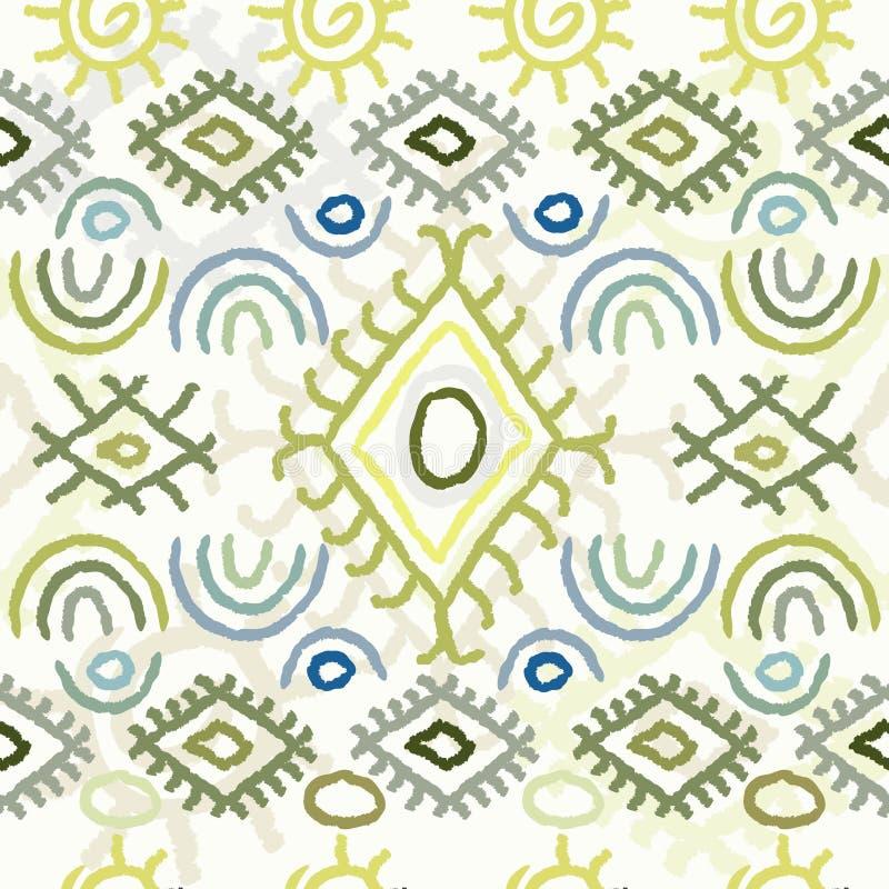 Modèle coloré sans couture de Navajo illustration de vecteur