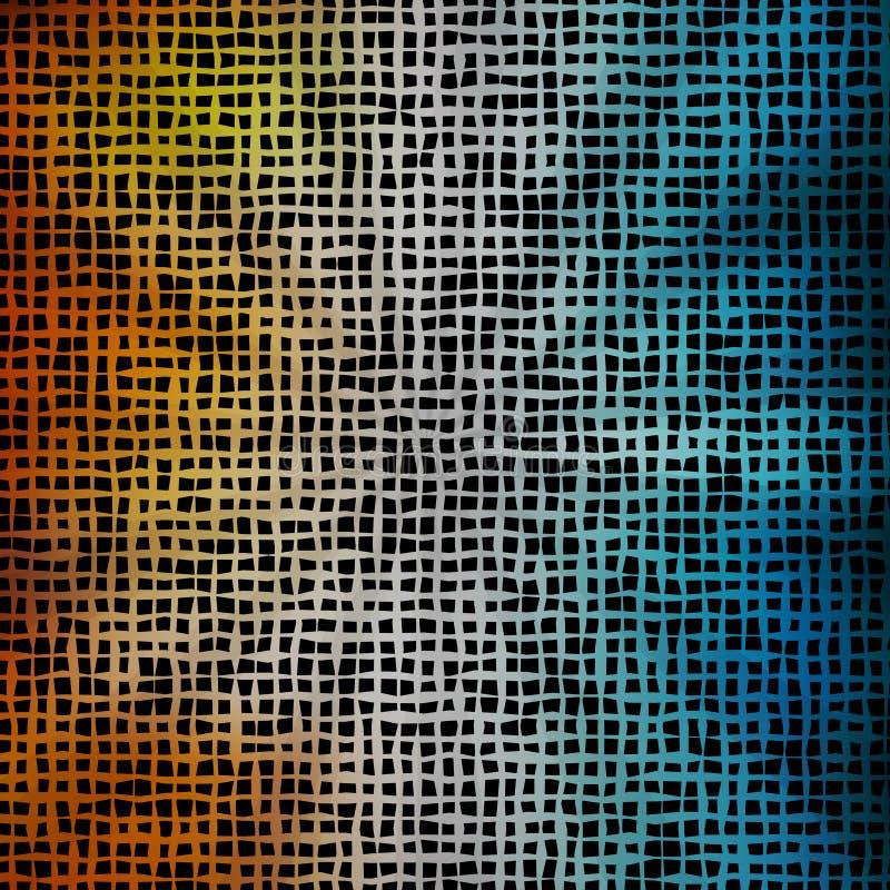 Modèle d'été de vecteur des formes géométriques illustration stock
