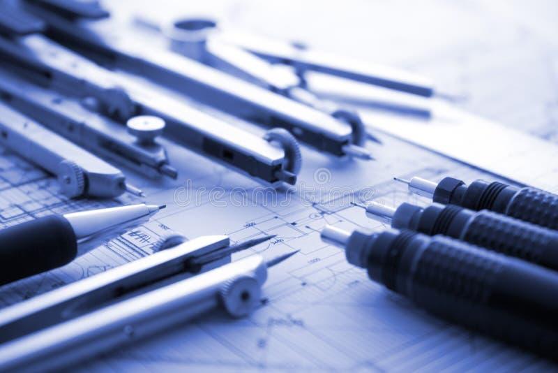 Modèle d'architecture images stock