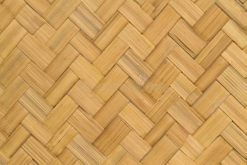 Modèle d'armure du fond en bambou photographie stock