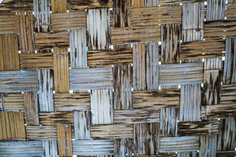Modèle d'armure du fond en bambou photo libre de droits