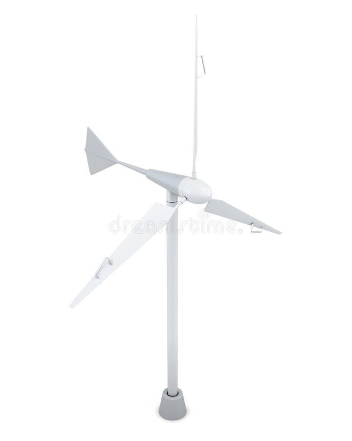 modèle 3d de générateur de vent illustration de vecteur