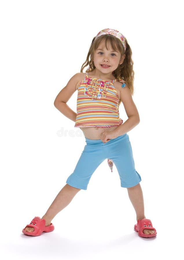 Modèle d'enfant féminin photo libre de droits