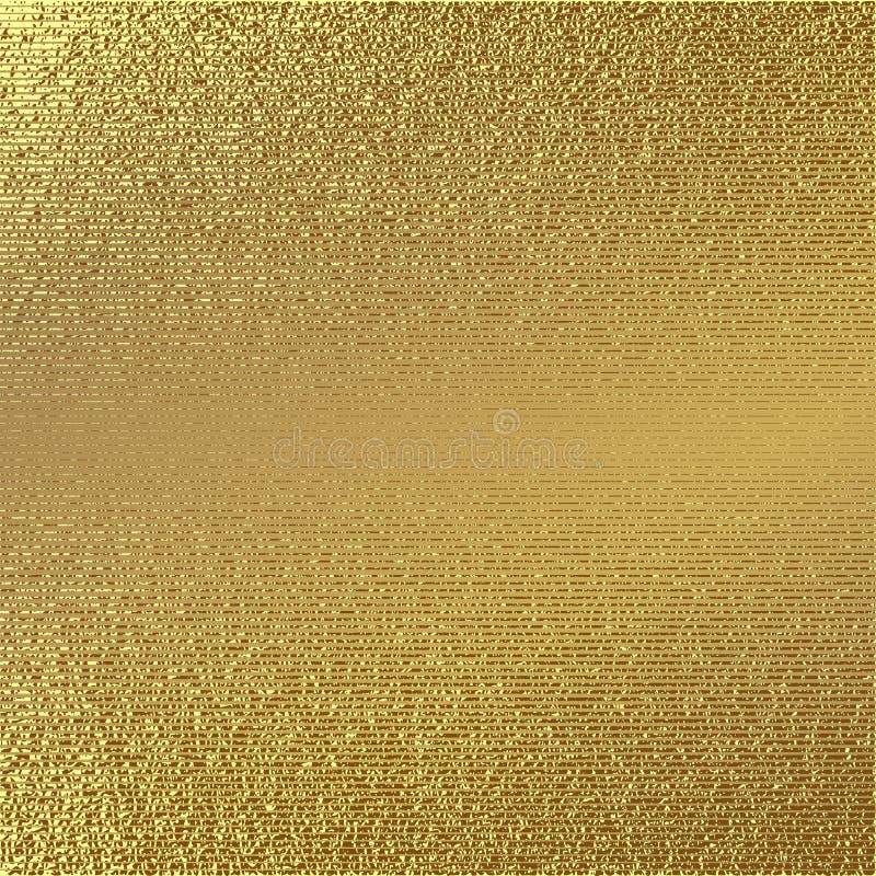 Modèle d'or Fond d'or abstrait Illustration de vecteur illustration stock