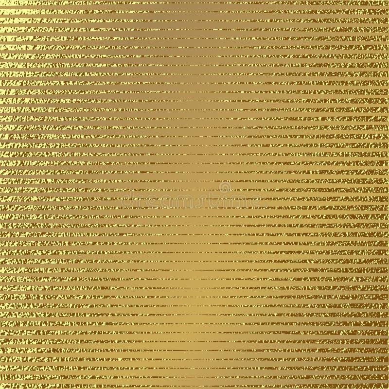 Modèle d'or Fond d'or abstrait Illustration de vecteur illustration de vecteur