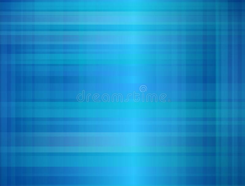 Modèle d'illustration de plaid pour la conception et décoratif bleus, modèle à carreaux classique sans couture de papier peint illustration stock