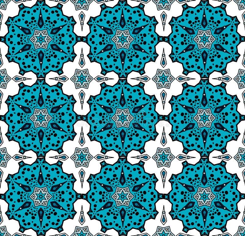 Modèle dans le style turc illustration de vecteur