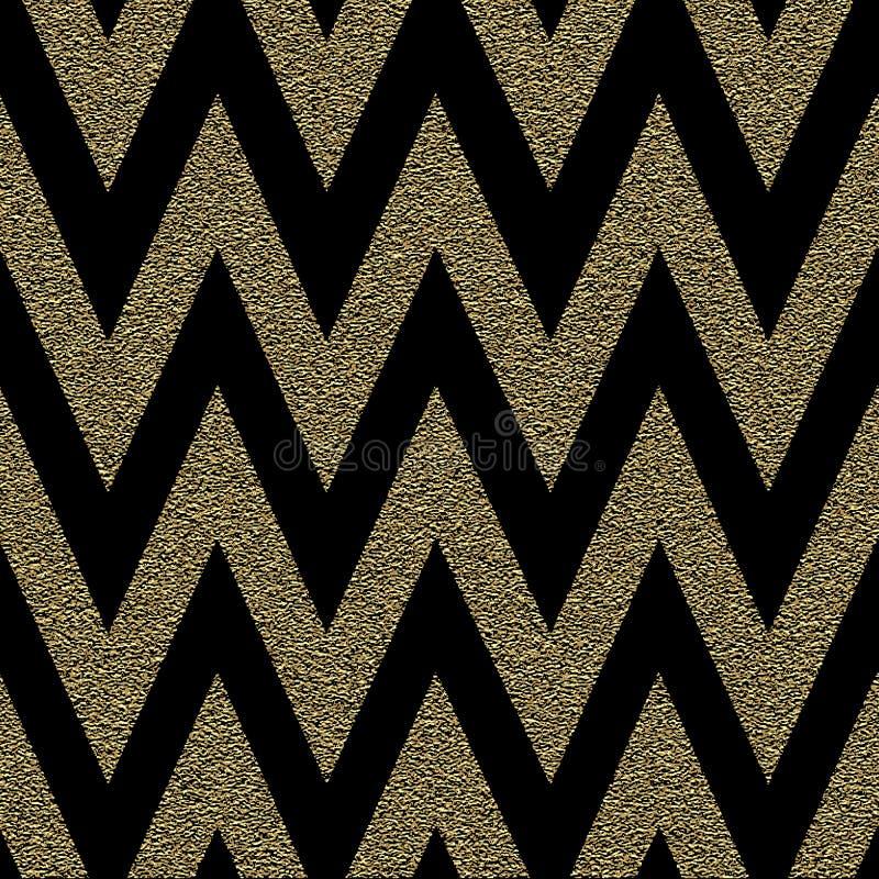 Modèle dans le zigzag Modèle sans couture de chevron classique Conception illustration libre de droits