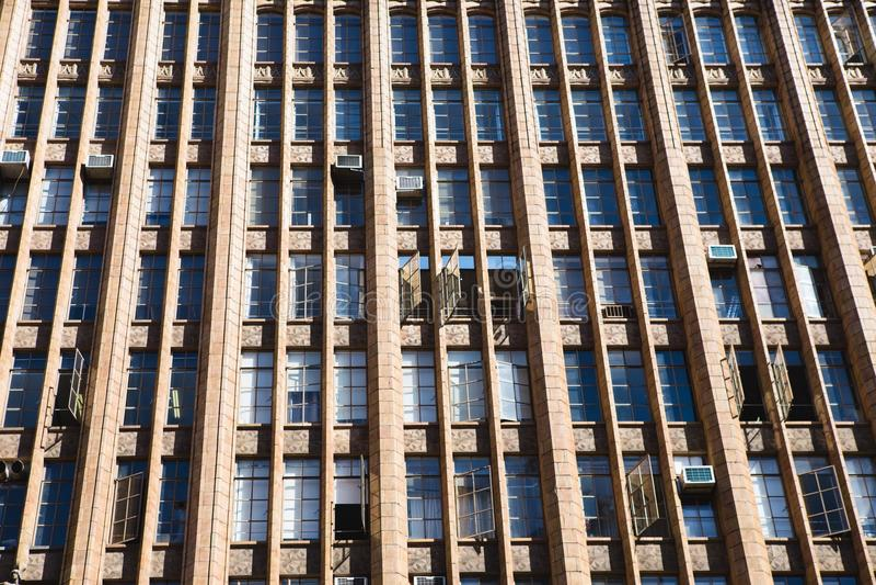 Modèle de bâtiment photographie stock