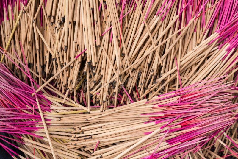 Modèle de bâton d'encens photo stock