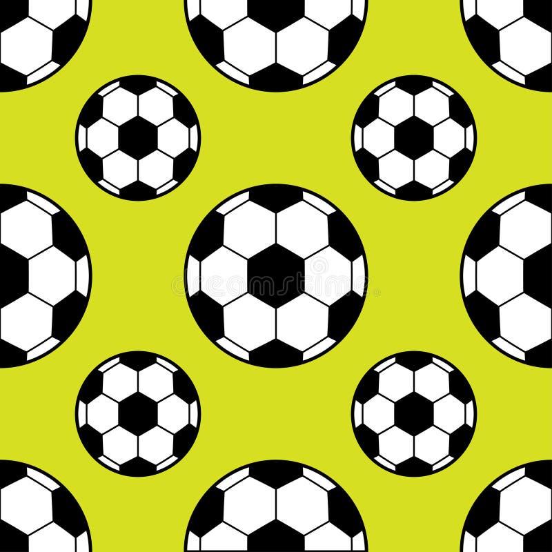 Modèle de ballon de football illustration de vecteur