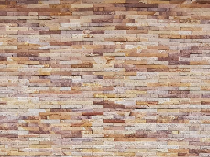 Modèle de bloc de béton avec le fond différent de mur de couleur image stock