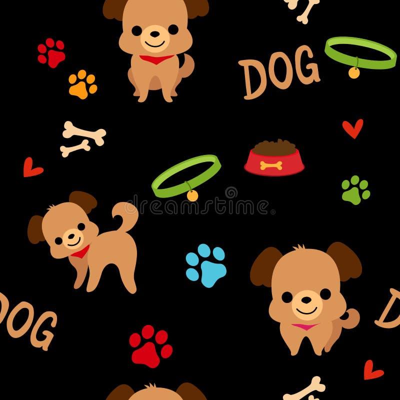Modèle de chien illustration libre de droits