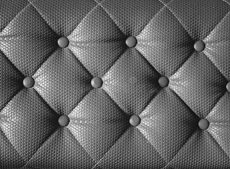 Modèle de coussin de diamant de sofa gris, de texture et de backgr de vintage image libre de droits
