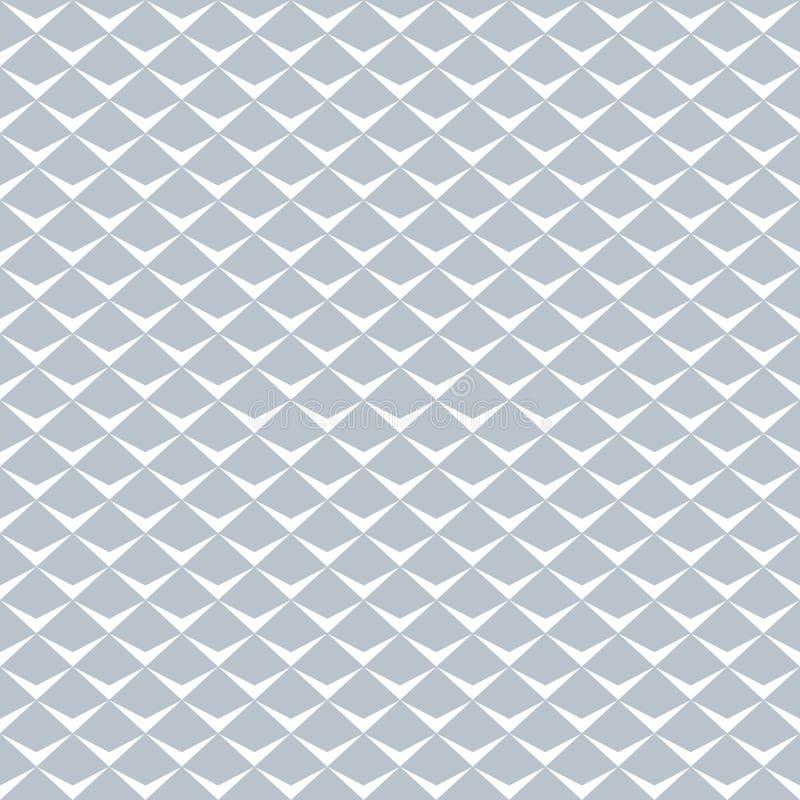 Modèle de ` d'échelle de poissons de ` Texture géométrique sans joint illustration de vecteur