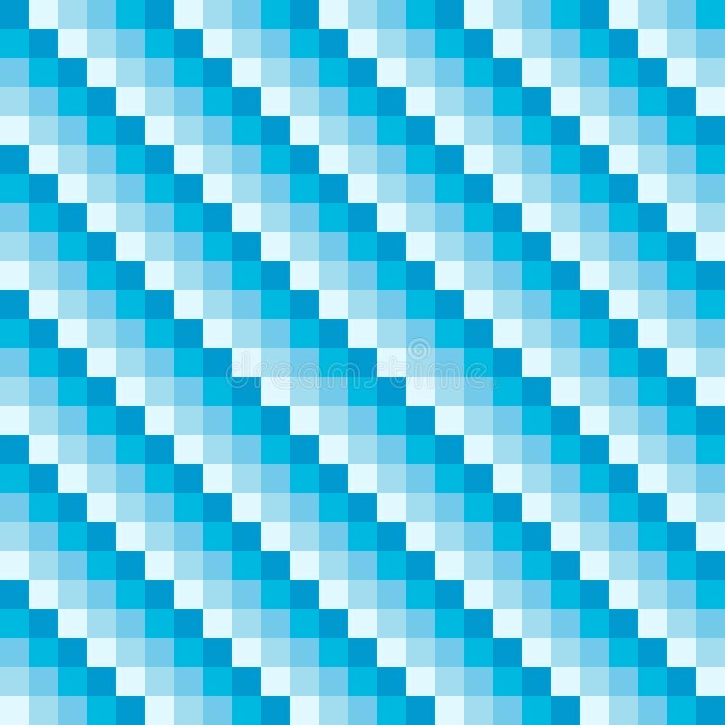 Modèle de diagonale de pixel d'hiver illustration libre de droits
